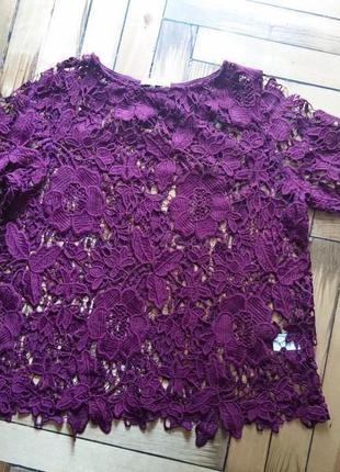Гипюровая блузка _туника пляжная#розвантажуюсь