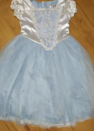 Платье новогоднее принцесса, снежинка,зима , золушка