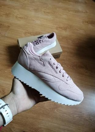 Reebok classic leather double | оригинальные кроссовки