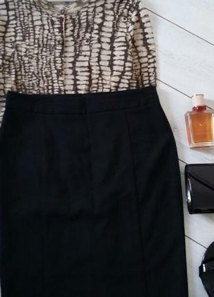 Базовая юбка карандаш миди для деловой девушки..# 529