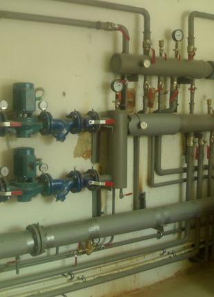 Монтаж систем отопления, котлов отопления, теплого пола