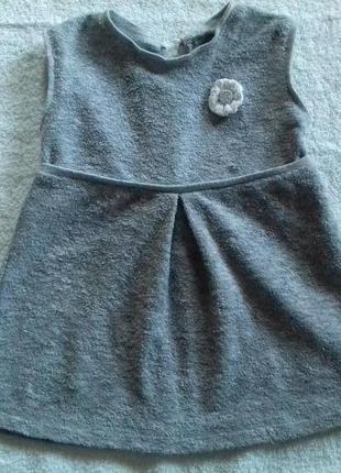 Махровое платьице