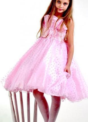 Бальное платье для девочки роза