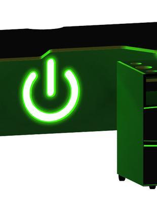 Компьютерный геймерский стол SEGA с led подсветкой