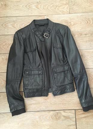 Кожаная куртка женская куртка