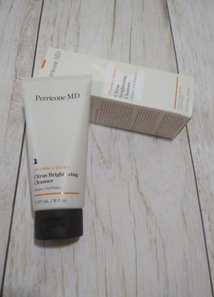 Perricone md vitamin c ester citrus brightening cleanser освет...