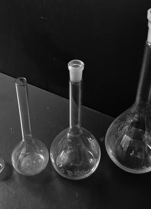 Мерная стеклянная колба 100мл