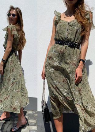 Шифон платье 👗 люкс качество
