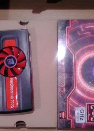 PowerColor HD 7770 Ghz Edition c нюансом(термодатчик)