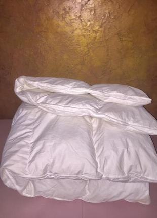 Тёплое пуховое одеяло 130/200 см.