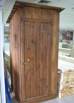 Туалет разборный деревянный