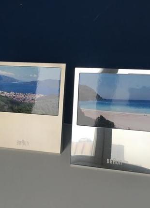 Набор из двух рамок для фото braun