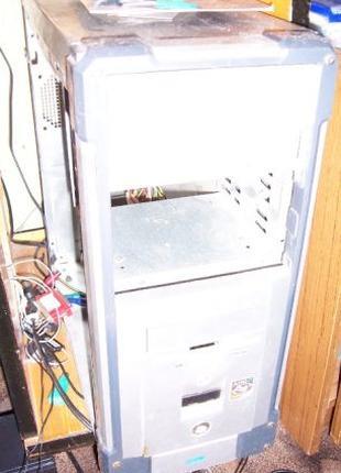 Системный блок питания корпус пк компьютера мышка клавиатура с...