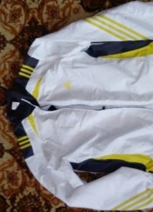 Белый спортивный костюм Adidas адидас. xl куплен за пределами ...