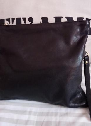 Ginger & brown: кожаный клатч, сумка