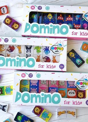 Домино Animals color set, ТМ Home-abc
