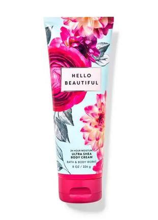 Крем для тела Hello Beautiful Bath and Body Works оригинал сша