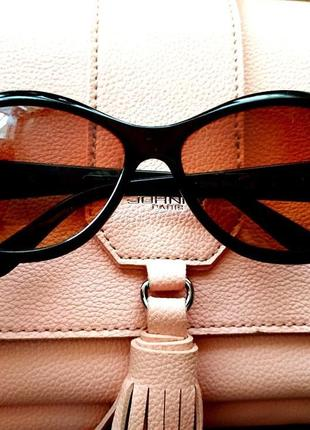 Очки солнцезащитные винтаж франция градиентные линзы высокая з...
