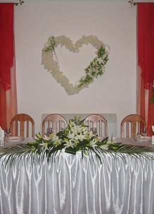Оформление свадьбы воздушными шарами в Черкассах.