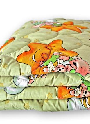 Одеяло детское  из овечьей шерсти qsleep 140х105 см украина