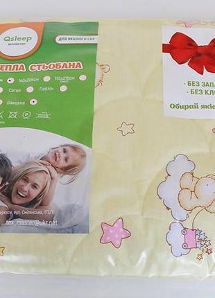 """Одеяло  хлопковое полуторное """"4 сезона""""  qsleep  140*205 см"""