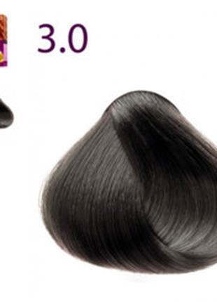 Краска для волос Expert, тон «3.0. Темный каштан» Faberlic