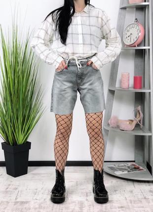 Джинсовые винтажные шорты levis 511оверсайз