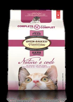 Сухой корм для кошек беззерновой Oven-baked Nature's Code со с...