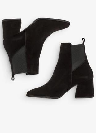 Черные ботинки vero moda  обувь , тренд сезона