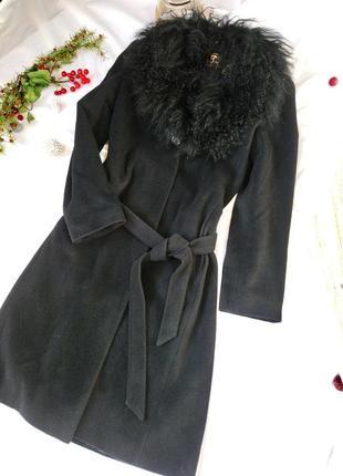 Пальто шерсть+ангора р м