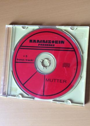 Музыка cd группа Rammstein : mutter