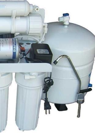 Монтаж обратного осмоса, установка фильтра обратного осмоса.