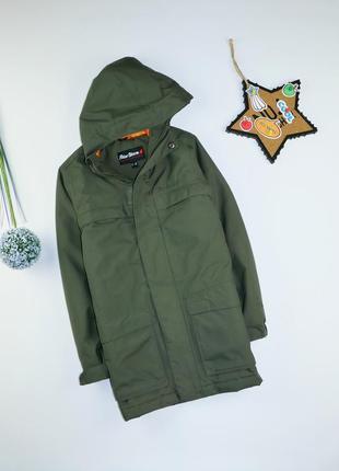 Демисезонная куртка мальчику на 7-8 лет, рост 122-128 см