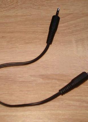 Аудіо кабель aux mini jack 3,5-3,5 mm.