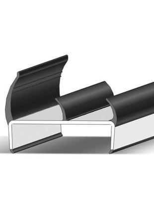 Уплотнитель ворот полуприцепа резиновый Alta, 65 мм