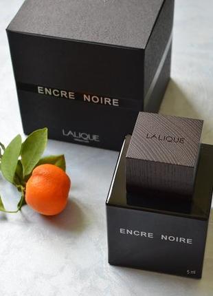 Lalique Encre Noire_original mini 5 мл_затест парф.вода