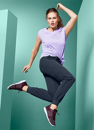 Качественные спортивные штаны в модном стиле ТСМ Чибо. М
