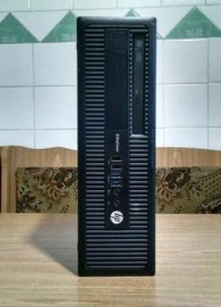 HP EliteDesk 800 G1 (500 Гб, Intel Core i5 4-го покоління, 3GH...