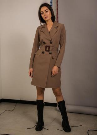 Стильное платье, платье-пиджак, платье-жакет
