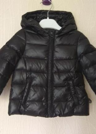 Зимняя детская куртка пуховик benetton