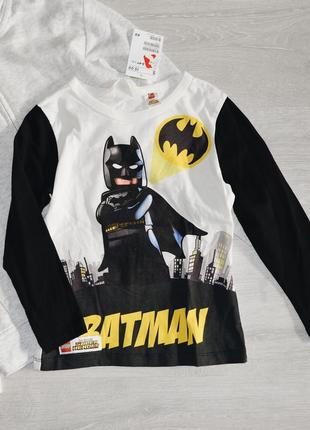 Лонгслив batman h&m на 3-4 г
