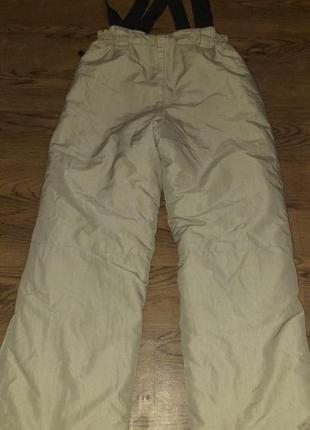 Зимние теплые штаны из канады рост 140