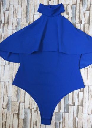 Шикарное боди цвет электрик 14 размер большой выбор одежды по ...
