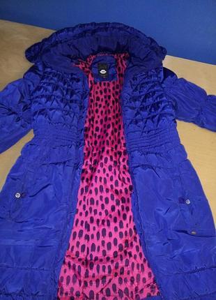 Длиннач куртка демисезонная ультрамарин jill