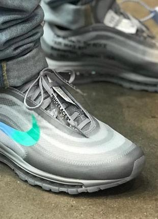 Кроссовки Off-White x Nike Air Max 97 Menta
