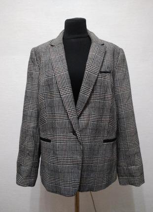 Стильный  модный трендовый пиджак большого размера