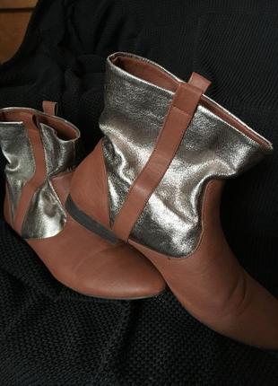 Сапоги лофери жіночі zara лоферы ботинки сапожки подарю обмен