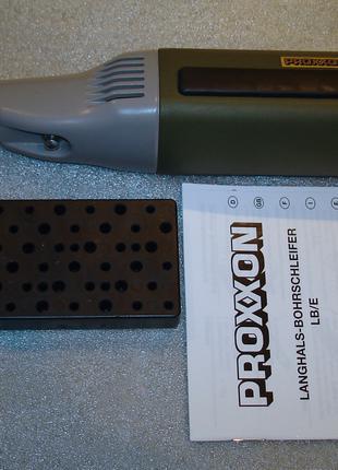 Proxxon Micromot 28485, длинная шейка 100мм, стол CNC, дремель