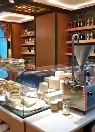 Тахини машина tahini урбеч кунжутная паста