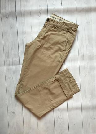 Джинсы брюки цвета кемэл